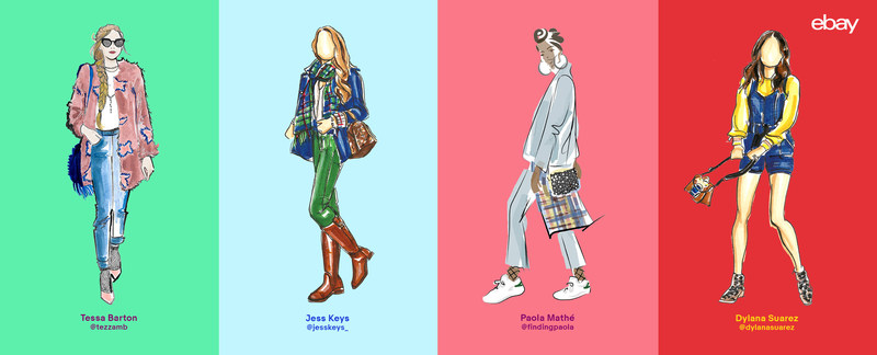 Introducing #MyFashionWeek, eBay has captured the spirit of real, stylish individuals via shoppable fashion illustrations, unveiling inspiring fall looks as interpreted by some of the world's most talented artists.