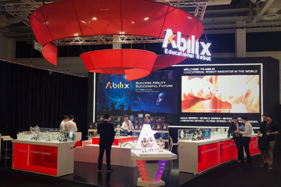 Abilix's showcase and displays
