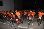 DATRI-Nirma Cycle to Gift a Life 2017 - was attended by over 400 participants (PRNewsfoto/DATRI Blood Stem Cells Donors Re)