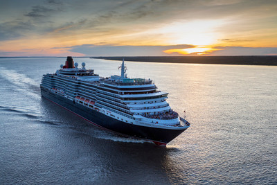 Cunard's luxury cruise ship, Queen Victoria, makes her maiden voyage through the 'Meeting of Waters', and becomes the largest passenger ship to sail the Amazon, sailing between the dark Rio Negro and the pale Amazon River in Manaus, Brazil. Manaus marks the sixth out of 32 ports on Queen Victoria's 41,000 nautical mile, 120-night World Voyage.