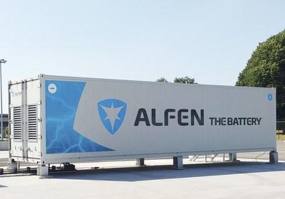 Solar Global selects Alfen to supply mega energy storage system (PRNewsfoto/Alfen B.V.)