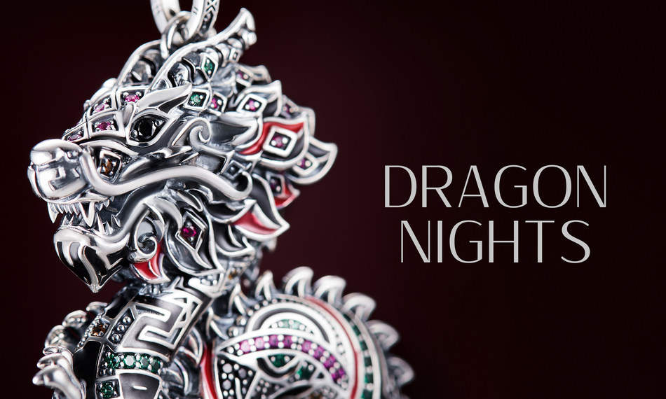 THOMAS SABO presents the special edition collection Dragon Nights (PRNewsfoto/THOMAS SABO)