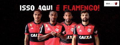 Wix.com y el Clube de Regatas do Flamengo anuncian asociación oficial