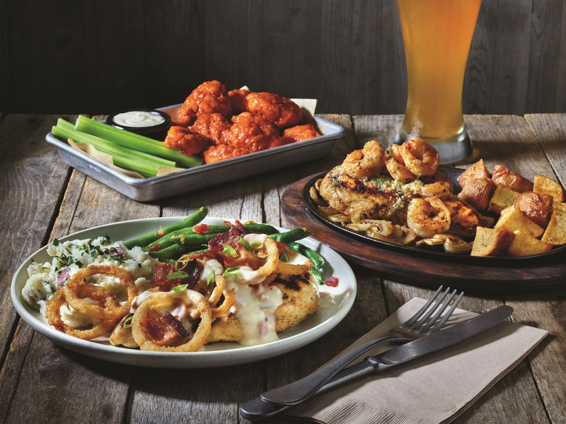 Applebee's® Neighborhood Grill + Bar announced today its plan to build upon 2 for $20 value menu, known nationwide for offering flavorful variety and generous portions at a great price, with three new craveable entrée additions, including the Whisky Bacon Burger, the Bourbon Street Chicken + Shrimp and the Chicken Breast with Bacon Beer Cheese Topper.