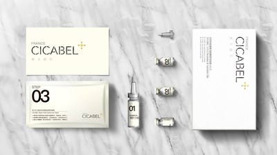 CICABEL 1+2+3 Revitalize & Hydration Mask Set from France