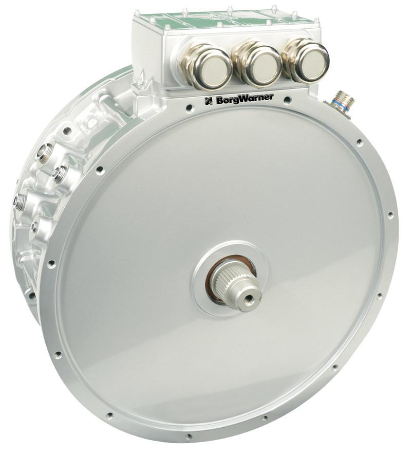 Borgwarner S Hvh Motor Technology Electrifies Scania