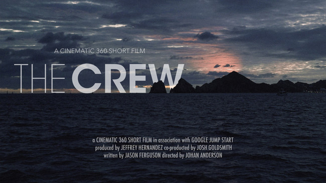 Poster of The Crew. Design by Johan Anderson
