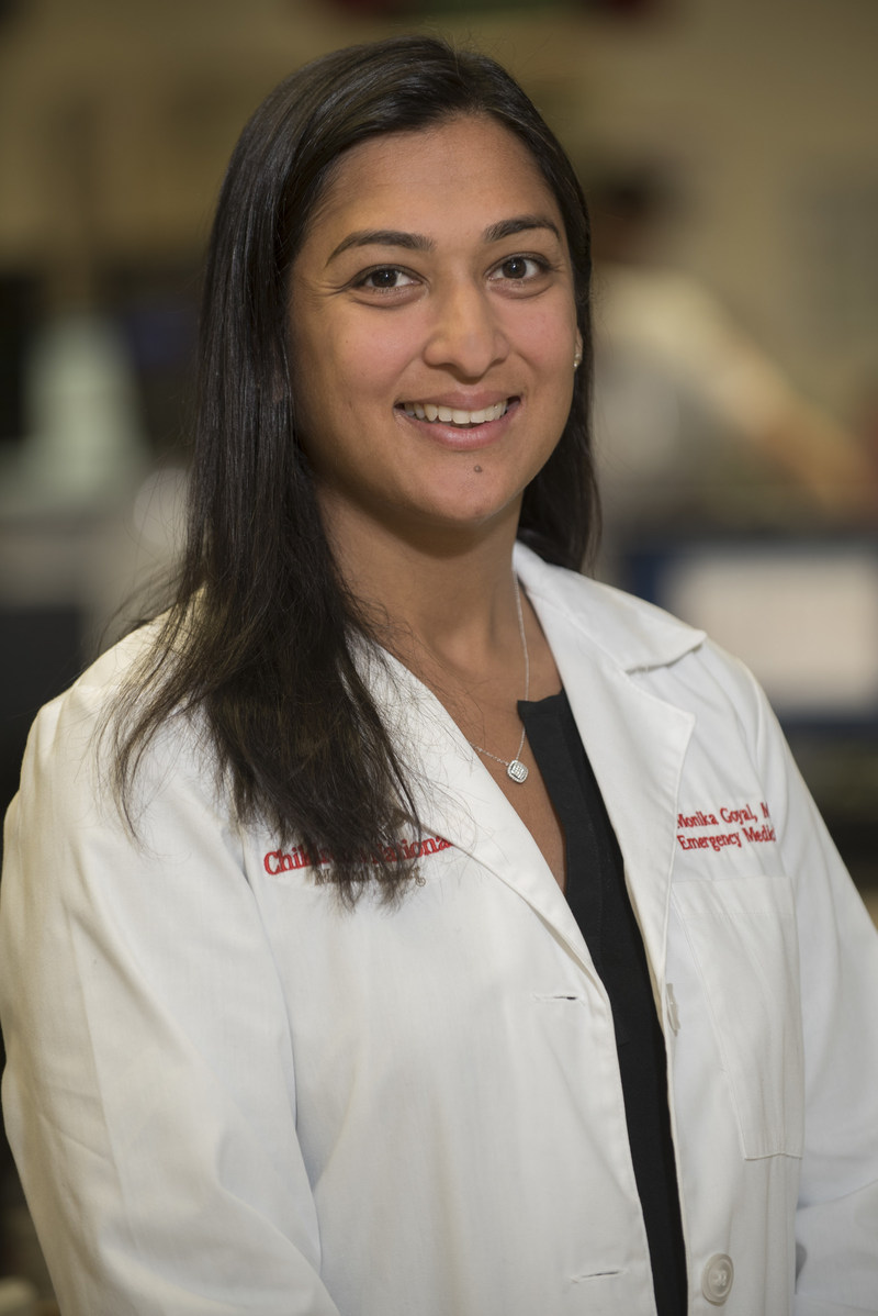 This is Monika K. Goyal, M.D., M.S.C.E., director of research in the Division of Emergency Medicine at Children's National Health System