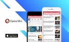 AI News Engine Lands on Opera Mini for iPhone