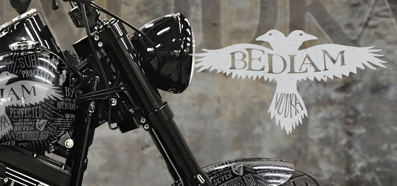 Ray Price Harley-Davidson and Bedlam Vodka team up to present the custom Bedlam Bike