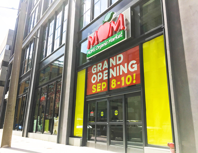 MOM's Center City, Philly store celebrates its Grand Opening September 8-10!