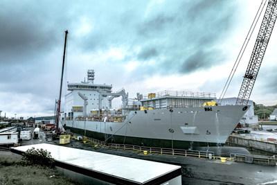 Federal Fleet Services présente la construction navale canadienne à son meilleur au DEFSEC 2017. (Groupe CNW/Chantier Davie Canada Inc.)