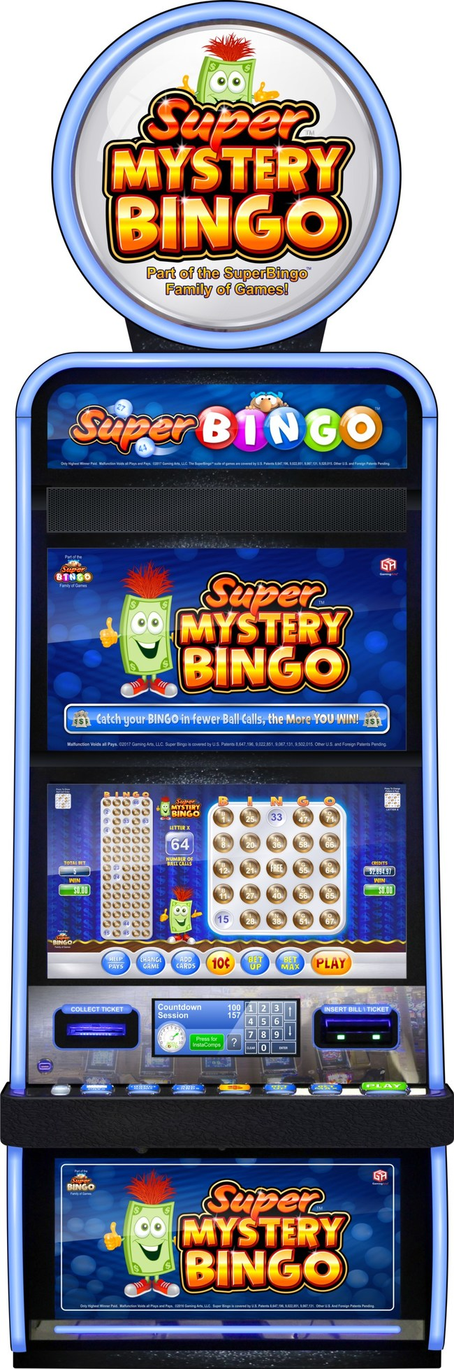Bingo Based Slot Machines