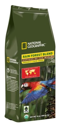 """The National Geographic """"Coffees of the World"""" collection is available in both 10 oz. bags and BioCup®—White Coffee's biodegradable, comparable K-Cup® size—and will be available for distribution to both online and brick-and-mortar retailers. These coffee products are available in retail outlets throughout the United States, on-line at www.whitecoffee.com or call (800) 221-0140 for more information."""