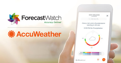 AccuWeather ForecastWatch study (PRNewsfoto/AccuWeather)
