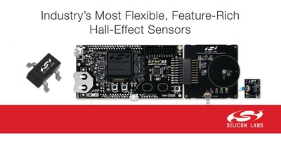 Silicon Labs' new Si72xx portfolio features the industry's most flexible, feature-rich Hall-effect magnetic sensors.