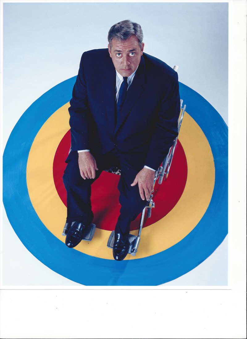 Raymond Burr as Ironside, TV's first handicapped lead, celebrating 50th anniversary.