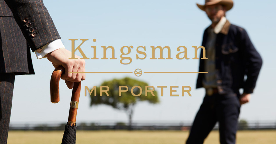 MR PORTER LAUNCHES SECOND PIONEERING PARTNERSHIP AND COLLABORATION WITH MATTHEW VAUGHN FOR KINGSMAN: THE GOLDEN CIRCLE