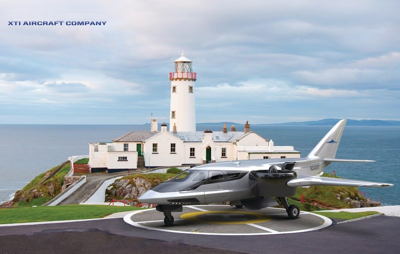 XTI Aircraft Company TriFan 600.... Go anywhere.