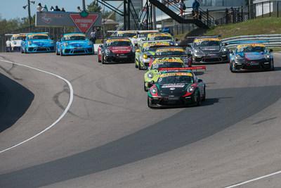Le weekend dernier, la série Ultra 94 Porsche GT3 Cup Challenge Canada présentée par Yokohama a fait un retour là où la saison a été inaugurée, c'est-à-dire sur le circuit Canadian Tire Motorsport Park (CTMP) à Bowmanville, en Ontario, pour disputer les dernières épreuves de la saison. (Groupe CNW/Automobiles Porsche Canada)