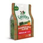 Treat Goals: The GREENIES™ Brand Introduces Pumpkin Spice Flavored Dog Treats