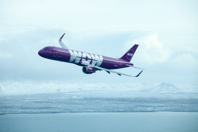 WOW air starts service between Dallas Fort Worth and Reykjavik, Iceland in May of 2018