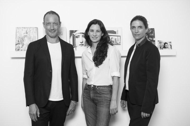 From left to right: Julian Vogel, Carrie Ellen Phillips, Vanessa von Bismarck