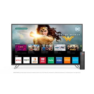 VIZIO SmartCast TV Now Available Across All 2016 VIZIO Ultra HD Displays. Enhanced Smart TV Platform Also Expands to Include FandangoNOW Giving Consumers Even More Content Options.