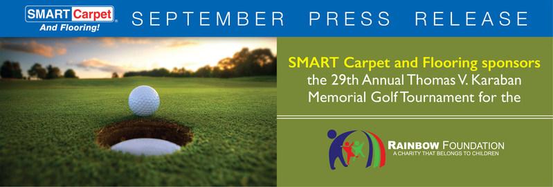 SMART Carpet and Flooring sponsors Rainbow Foundation's 29th Annual Thomas V. Karaban Memorial Golf Tournament