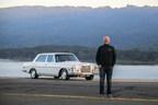 Turo CEO, Andre Haddad, with vintage Mercedes-Benz