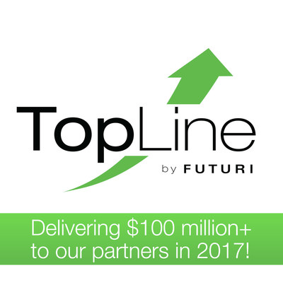 Futuri Media, a global leader and innovator in media technology, today announced that its patent-pending TopLine app, which puts powerful research and design technology in the hands of media sales professionals, is on track to deliver $100 million in 2017 revenue for its partners.