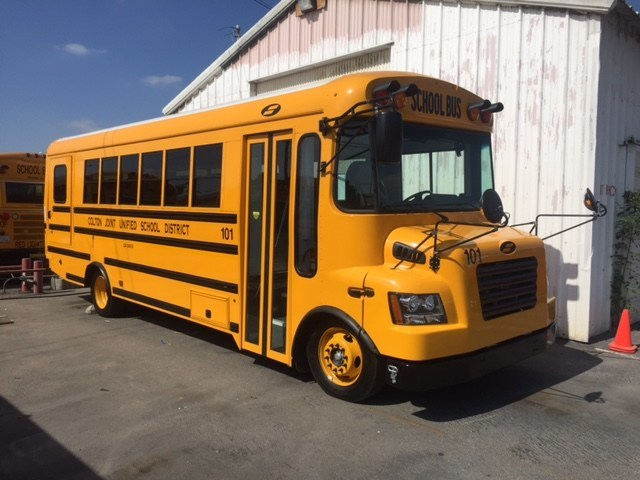 Funded in part by a grant through the California Energy Commission (CEC) and the South Coast Air Quality Management District, the Motiv powered Type-C school buses deliver best-in-class performance in safety, driving experience, and range by using the versatile and modular Motiv all-electric powertrain.
