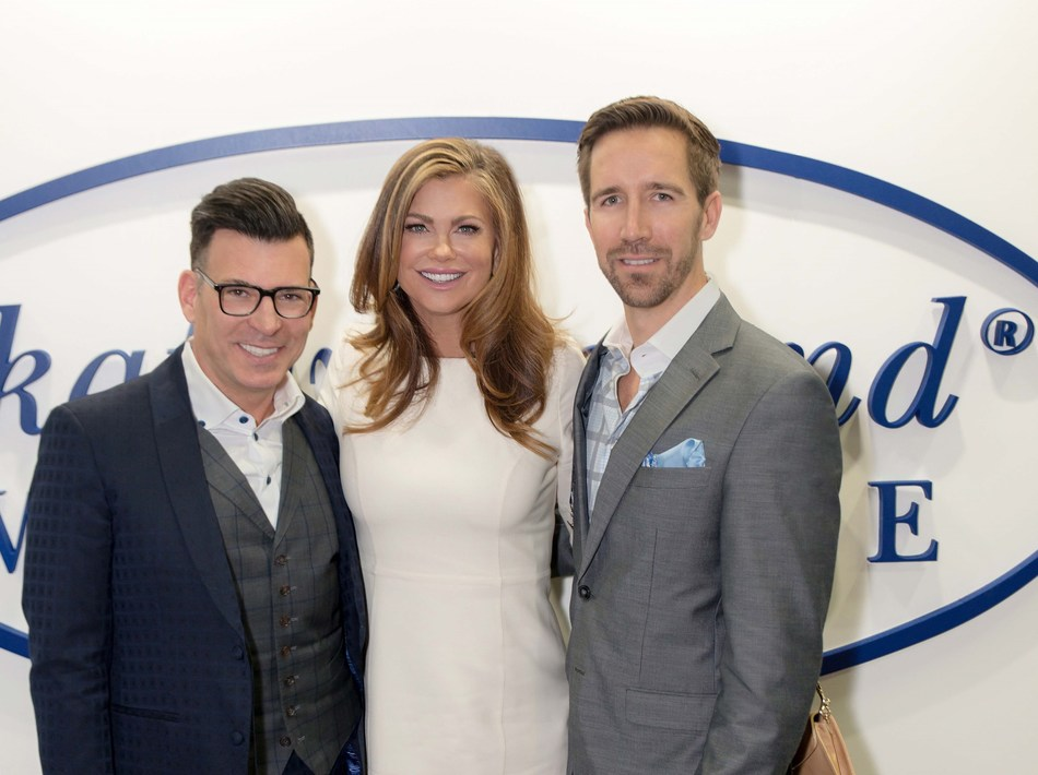 David Tutera, Kathy Ireland® and Joey Toth.