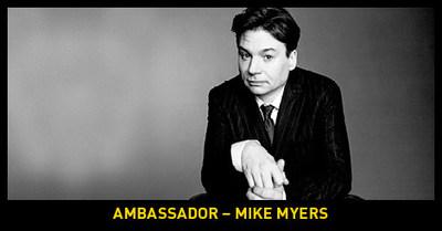 Annonce de la légende canadienne Mike Myers comme ambassadeur officiel des Jeux Invictus de 2017 à Toronto (Groupe CNW/Invictus Games Toronto 2017)