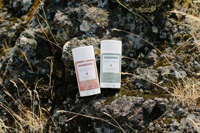Earth + Wood Deodorant in Original and Sensitive Skin Formulas