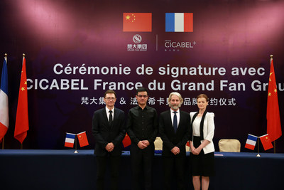 Chinese Grand Fan Group signs the agreement acquiring French CICABEL brand