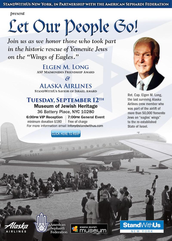 Last Surviving Crew& Member of Alaska Airlines' Yemen Airlift to be Honored