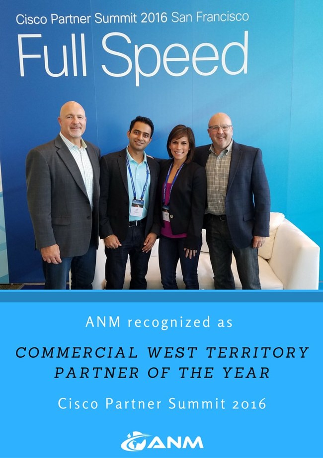 Cisco and ANM celebrate