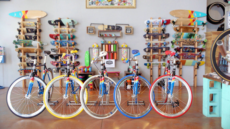 """Kellogg's® Froot Loops®  has partnered with State Bicycle Co. to create a high-flying single-gear bike that can be customized to """"Whatever Froots Your Loops."""""""