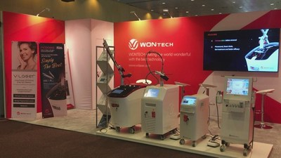 The WONTECH booth at 8th 5CC in Barcelona