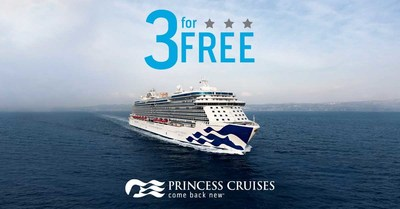 Princess Cruises Reveals Three For Free Sale