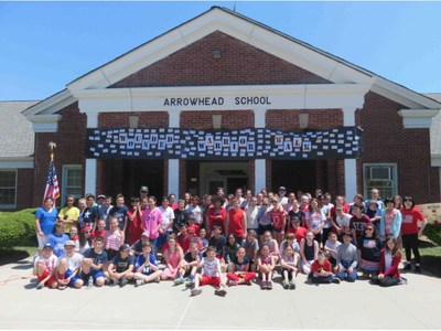 Students from Arrowhead Elementary school recently supported Wounded Warrior Project.
