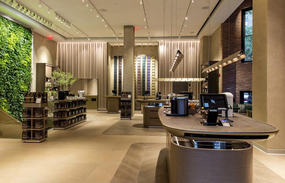 Nespresso Madison Boutique Ground Floor Photo: Kristjan Veski for Nespresso