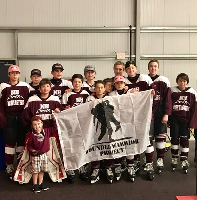 Raising awareness at the local level can make a big difference for Wounded Warrior Project, something that Coach Corey Riendeau and his youth hockey team have started to put into practice.