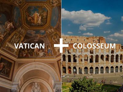 ItaliaRail Colosseum and Vatican Show & Go Pass(TM)