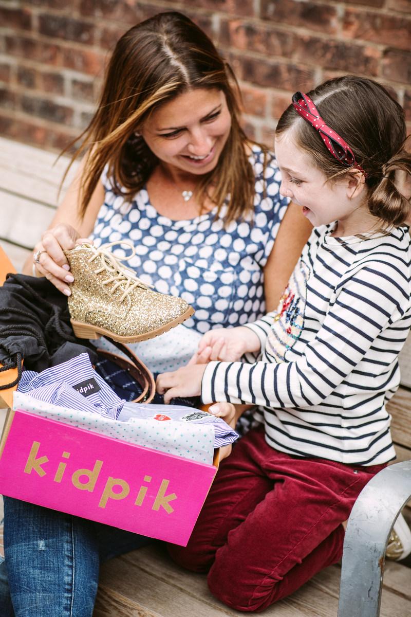Girls love receiving a kidpik fashion box