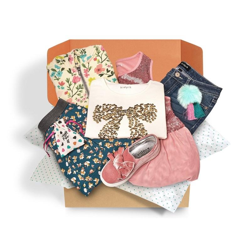 kidpik fall fashion box exclusively for girls
