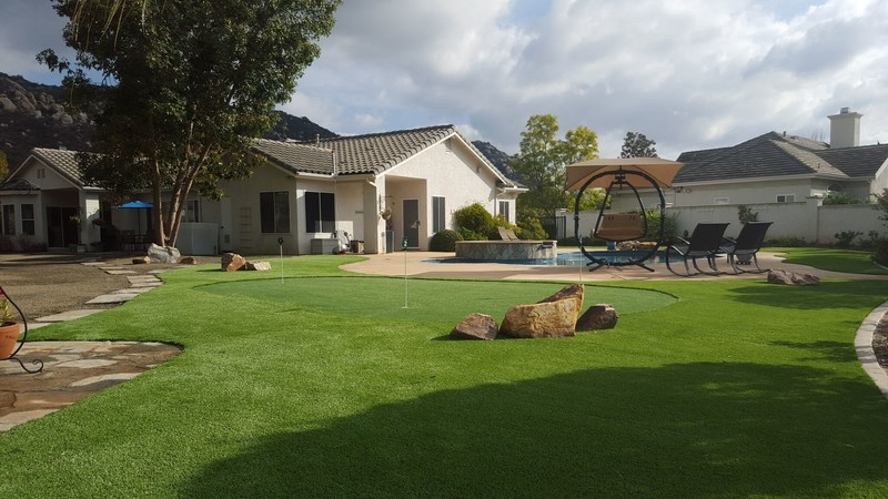 Installation by Tri City Synthetic Turf