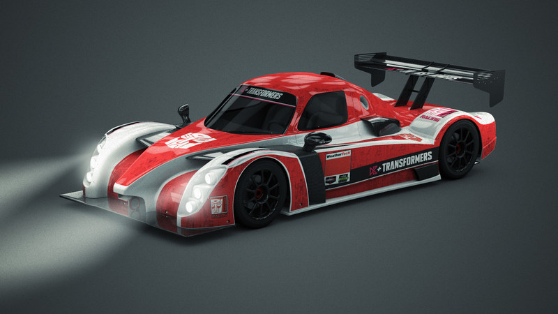 D3+Transformers Racing Comes to Life with New Racing Team for IMSA Competition