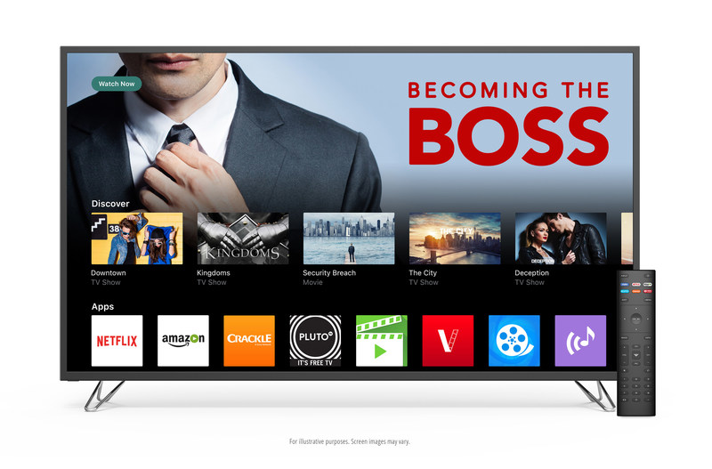VIZIO SmartCast TV(SM) Now Available in Canada Across All